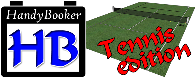 HandyBooker Tennis Edition logo